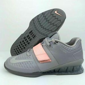 Nike Romaleos 3 XD Atmosphere Grey Pink sneakers